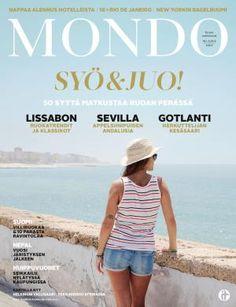 Mondo 4/2016   Mondo.fi Andalusia, Panama Hat, Cover, Sevilla, Lisbon, Panama