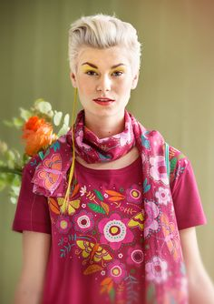 February magazine – GUDRUN SJÖDÉN – Webshop, mail order and boutiques | Colorful clothes and home textiles in natural materials.