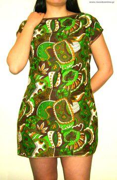 Boho φόρεμα με καφέ, πράσινα, άσπρα και κίτρινα σχεδιάκια Boho, Bodycon Dress, Dresses, Fashion, Vestidos, Moda, Body Con, Fashion Styles, Bohemian