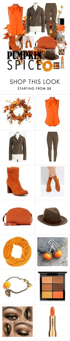 """""""Untitled #20"""" by attakai ❤ liked on Polyvore featuring National Tree Company, Moschino, Musse & Cloud, Monki, A.P.C., rag & bone, Charlotte Russe, MAC Cosmetics and Sisley"""