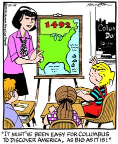 Oct/14/2013 Dennis the Menace by Hank Ketcham http://dennisthemenace.com/
