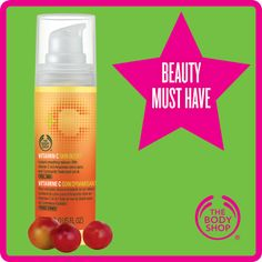 Vitamin C Skin Boost - my very favourite Body Shop item. (https://www.facebook.com/AdelesPamperParties)