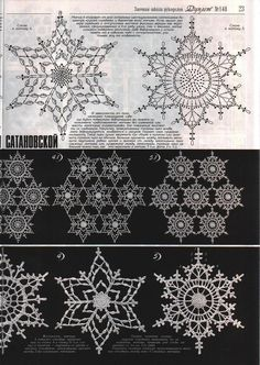 Crochet Christmas Ornaments Patterns Snow Flake Ideas For 2019 Crochet Snowflake Pattern, Crochet Stars, Crochet Motifs, Crochet Snowflakes, Crochet Diagram, Doily Patterns, Crochet Doilies, Crochet Flowers, Crochet Stitches
