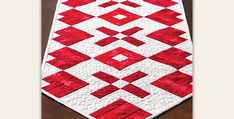 This is a Very Easy Quilt Project to Complete! Pieced hearts along with Xs and Os take center stage in this beautiful quilted table runner. It's a wonderful expression of love for Valentine's Day. It's also perfect for special meals any time of the year with someone near to your heart. The vivid red fabrics …