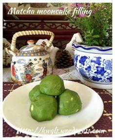Baked Matcha Moon Cake (绿茶翡翠月饼)#guaishushu #kenneth_goh     #matcha_mooncake  #绿茶月饼