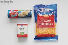 Easy 3 ingredient Garlic Cheddar Biscuits - November Office Bdays