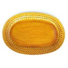 Emilia Ceramics - Fish Platter in Burnt Honey