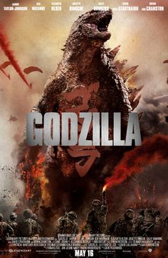 """Godzilla 2014"" focused less on monster mashin' chaos and more on the humans caught in the midst of it but it was still a fun ride. A vast improvement over the P.O.S. 1998 attempt at a Big G movie by the ""Independence Day"" crew anyway!"