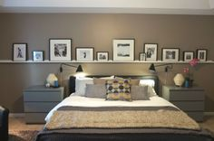 Master bedroom wall decoration ideas - house decoration, Master bedroom wall decoration ideas wall design in the bedroom balmy bathrooms Home Bedroom, Bedroom Wall, Master Bedroom, Bedroom Decor, Ikea Bedroom, Bedroom Ideas, Basement Bedrooms, Bedroom Modern, Bedroom Inspiration