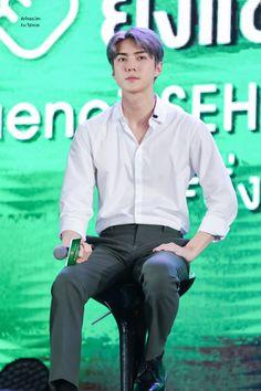 세 훈 Sehun First in Bangkok 190923 Hunhan, Sehun, Shit Happens, Bangkok, Stage, Twitter, Scene