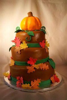 Thanksgiving Cake Idea 12 - Endless Cake Ideas | Endless Cake Ideas