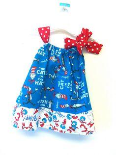 Dr Seuss Cat in the Hat dress
