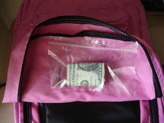 Kids' Emergency Bags