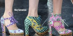 Footwear Trends Spring 2014 | London Fashion Week Spring/Summer 2014 Shoes trends part 2 ...