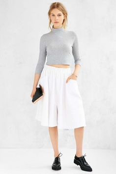 Silence + Noise Iggy Culotte - Urban Outfitters