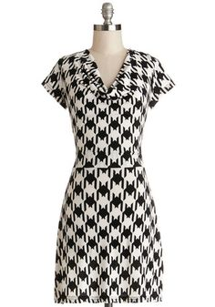Making Headlines Dress, #ModCloth