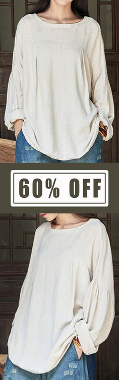 I love those fashionable and beautiful blouses from banggood.com. Find the most suitable and comfortable outfit at incredibly low prices here. #women #fashion #blouse