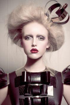 Phoenix Magazine May 2012 | Holly F | Catherine Harbour | Hair: Klare Wilkinson