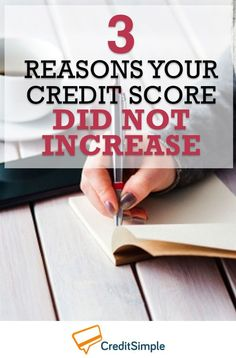 I've been trying to improve my credit, but my credit score didn't increase. Now I know why! Building Credit Score, Boost Credit Score, How To Fix Credit, Improve Your Credit Score, Identity Theft, Financial Literacy, Credit Card Offers, Money Saving Tips, Money Tips