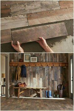 wall or floor, NOT both
