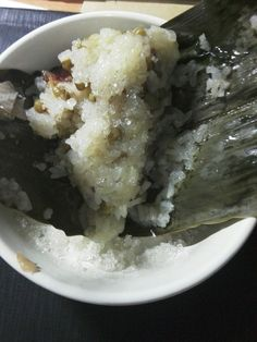 Rice dumplings made by myself(≧▽≦).Today is  the Dragon Boat Festival(*^ω^*)