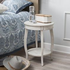 Finley Home Tucker Accent Table