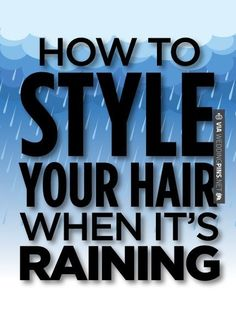 Cool! - How to style your hair when it's rainy/humid - | CHECK OUT MORE IDEAS AT WEDDINGPINS.NET | #weddings #hair #weddinghair #weddinghairstyles #hairstyles #events #forweddings #iloveweddings #romance #beauty #planners #fashion #weddingphotos #weddingpictures