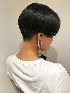Very Short Bob, Very Short Hair, Korean Short Hair, Bowl Cut, Cute Hairstyles, Bangs, Pixie, Short Hair Styles, Hair Cuts
