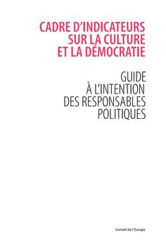 IFCD - The Indicator Framework on Culture and Democracy