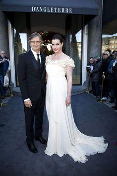 Bille August med sin kone skuespillerinden Sara-Marie Maltha.