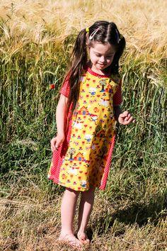 SideCut Kleid von MiToSa-Kreativ gerade Variante