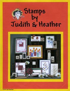 Stamps by Judith 144 page color catalog #11. Full of card and scrapbook page ideas. Many color sample ideas of the best selling Tree for All Seasons. Shows many ideas using the original Sticks and Stubbies. - To see more ideas and order Stamps by Judith & Heather go to www.stampsbyjudith.com