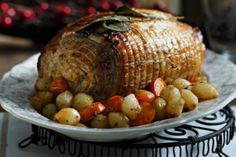 Welcome to Greece's official Sunday meal! It's one of these dishes that just don't taste the same in the restaurant. Sunday Recipes, Pot Roast, Baking Recipes, Kai, Greek, Food And Drink, Turkey, Meals, Dishes