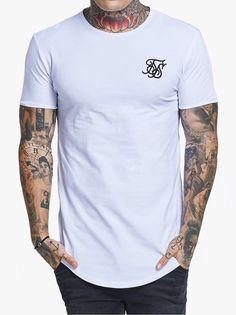 46babe815d Sik Silk Gym T-Shirt White