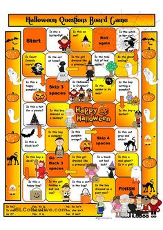 Halloween Boardgame for Beginners