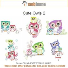 Hey, I found this really awesome Etsy listing at https://www.etsy.com/listing/206944996/cute-owls-2-baby-mother-machine