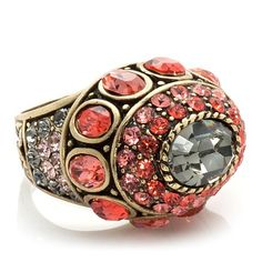 "Heidi Daus ""The Imperial Elephant"" Crystal Ring"
