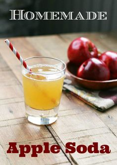 fall drinks Homemade soda is all the rage. It's no longer cool just to drink soda. Best Quinoa Recipes, Apple Recipes, Fall Recipes, Cheap Recipes, Healthy Recipes, Juice Recipes, Recipes Dinner, Apple Soda Recipe, Yummy Drinks