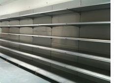used supermarket shop shelving