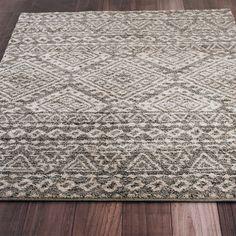 Graphic Aztec Pattern Rug