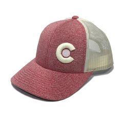 6ea688b58ee Loverly Colorado Trucker Hat - Red Heather   Birch