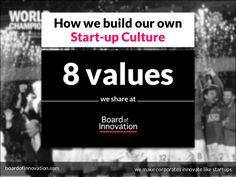 Good ref.!  The 8 values that define our culture