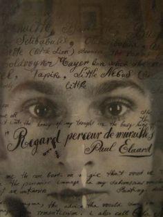 Paul Eluard: Les Yeux de Gala - Salvador Dalí Poème - Pesquisa Google