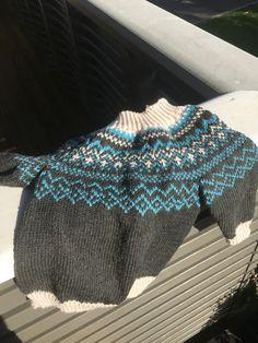 Ludvig genser#klompelompe#strikking#knitting#sandnes merinoull