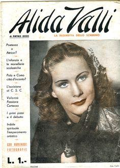 Alida Valli (giornale / magazine)