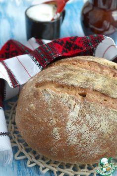 Хлеб деревенский с цельнозерновой мукой - кулинарный рецепт
