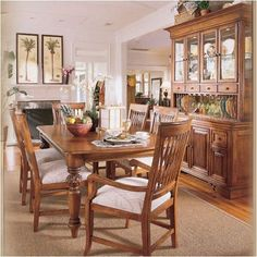 Tommy Bahama inspired dining room ... love it