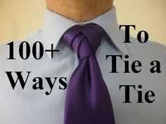 How to tie an Ellie Knot for your Necktie - YouTube best video for an easy eldrige knot