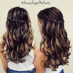 Annies Forget Me Knots Homecoming hairstyle