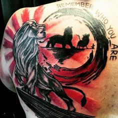 the #Lion #King  - #Tattoo